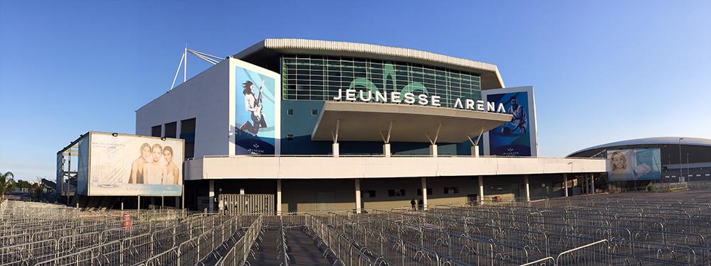 fachada Jeunesse Arena
