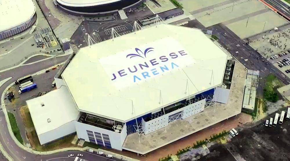 telhado jeunesse arena